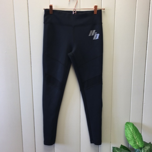 795474980c Harley-Davidson Pants - Harley Davidson Black Mesh Cutout Leggings Small